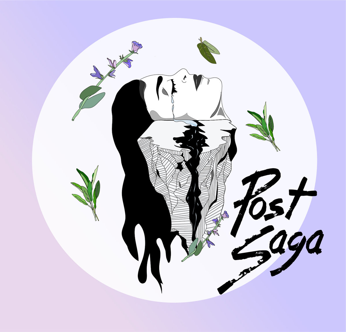 Post Saga EP Album Cover Art