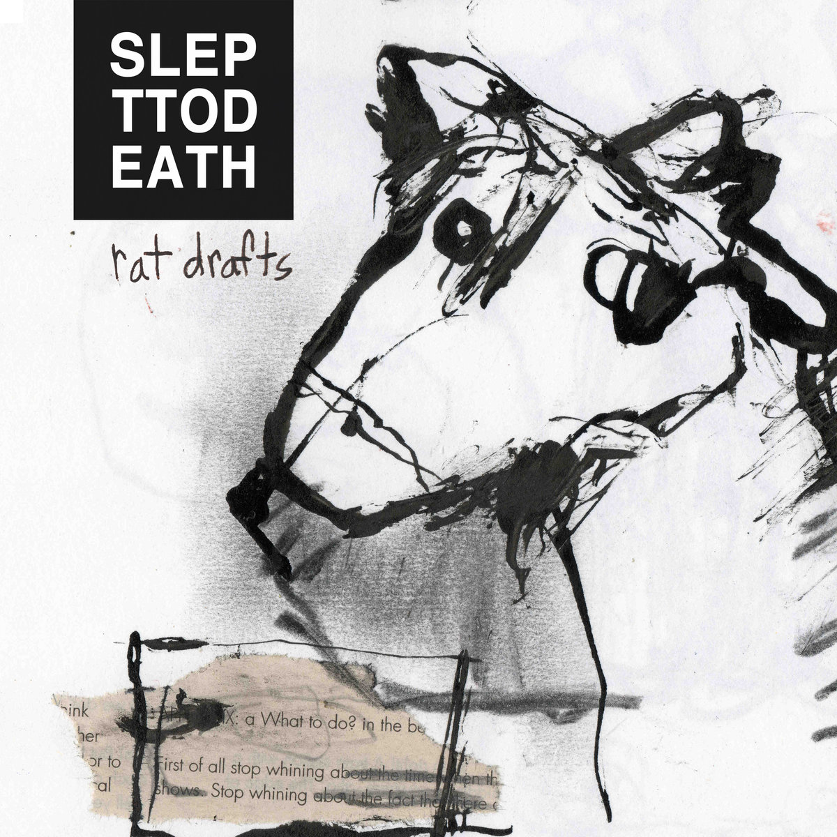 Slept To Death Rat Drafts Demo Album Art